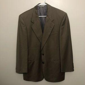 aquascutum of London blazer coat tan brown